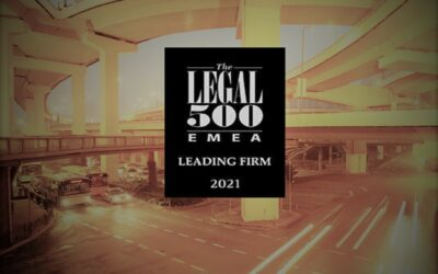 TLA recognized as a leading firm in transport by the legal 500